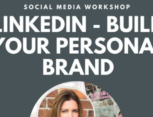 Social Media Workshop – Building your personal brand on LinkedIn – 13th March 2020