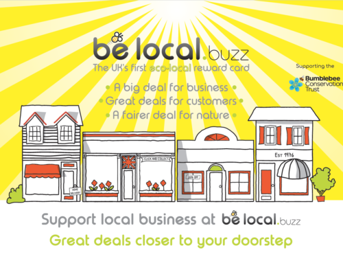The Hive launches Be Local – the UK's 1st eco-local reward card